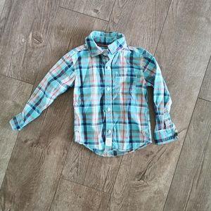 3/$15 Carter's button down dress shirt 3T